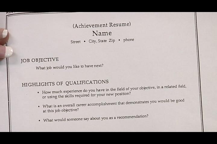 How To Make A Resume For First Part Time Job